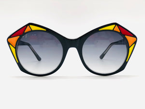 Funky Handmade Sunglasses Black