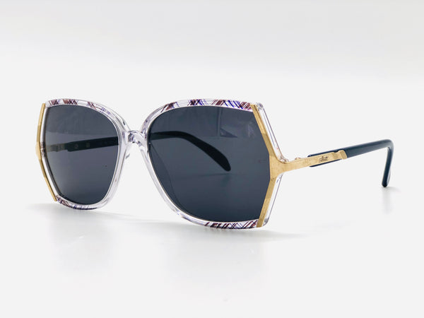 Vintage  Sunglasses Silhouette Clear with Gold m1723