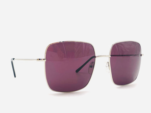 Oversized Sunglasses Obergine lenses