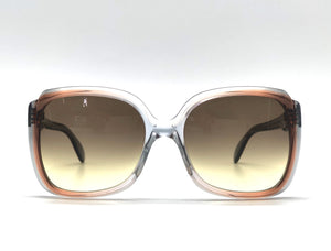 Rare Gray/Havana square Sunglasses 1974 circa