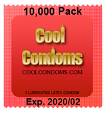Bulk Cool Condoms #10,000 Quantity 10,000 Pack