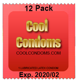 Bulk Cool Condoms #12 Quantity 12 Pack