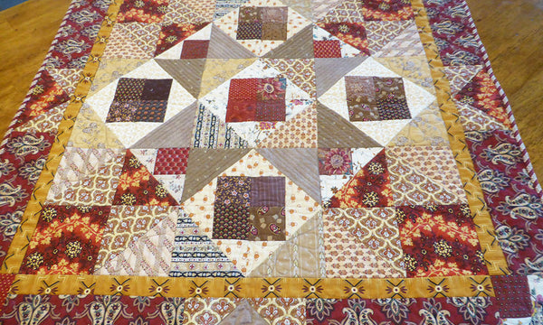 Grandmothers Star Quilt Pattern