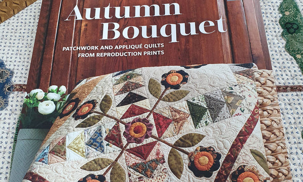 I have a copy of my book 'Autumn Bouquet' in my hands and I can't wait to share what's inside.