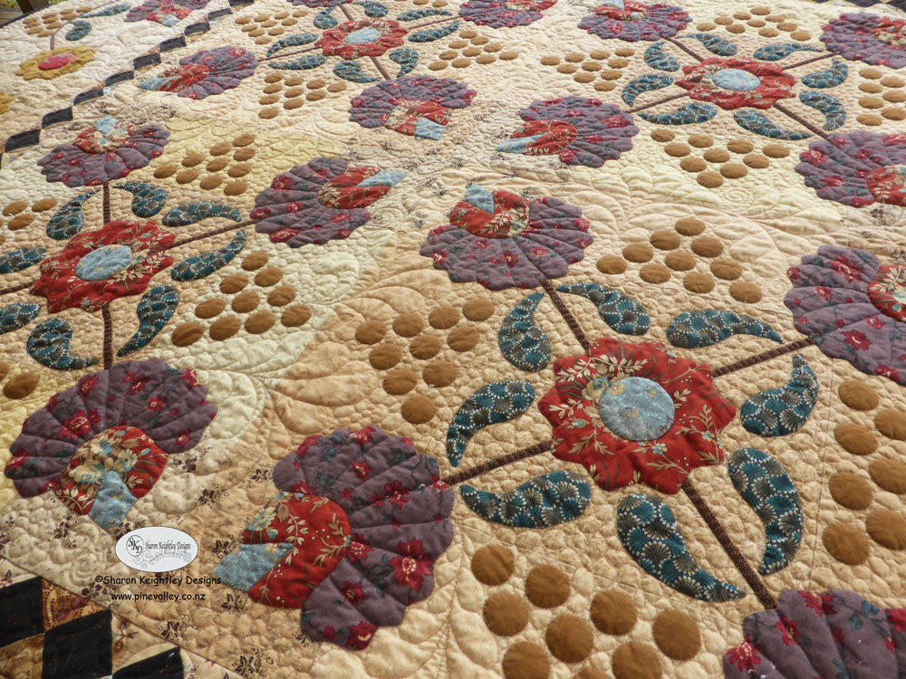 Berries and Blossoms Quilt Pattern