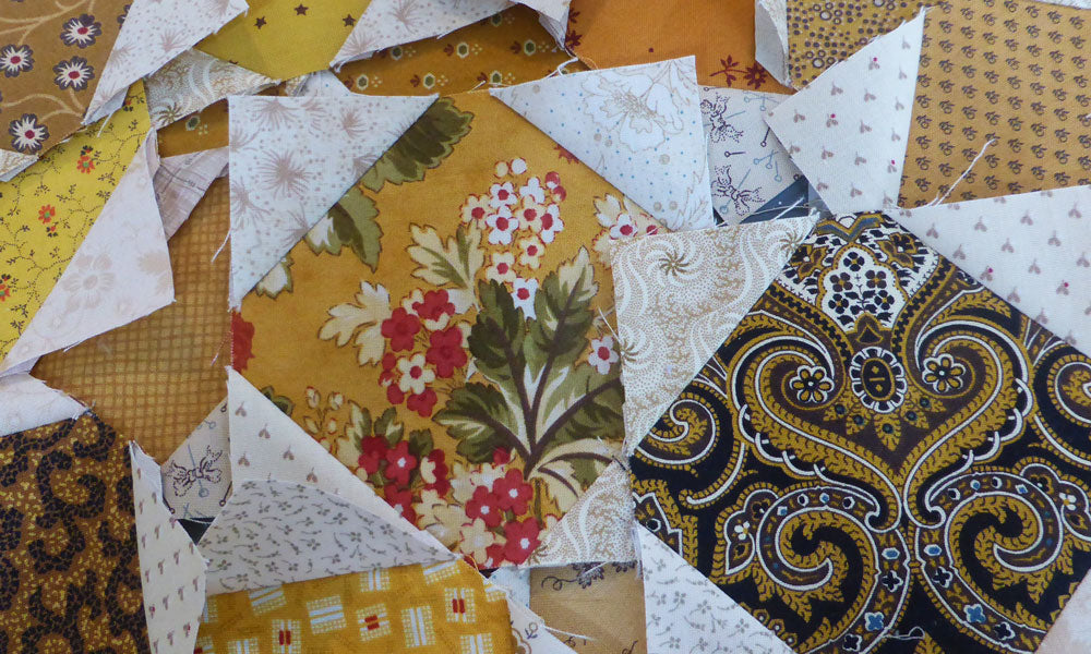 Sewing Snowball Blocks Tutorial - Sharon Keightley Quilts