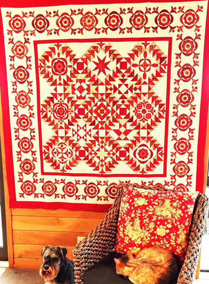 Simply Red Quilt BOM