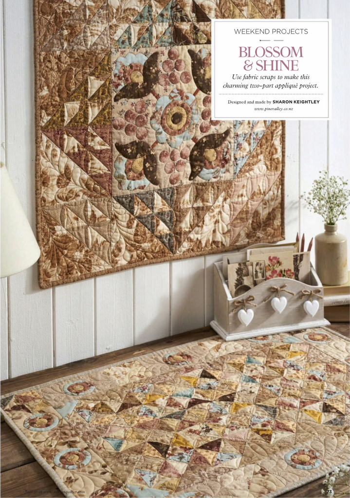Today's Quilter Magazine Quilts