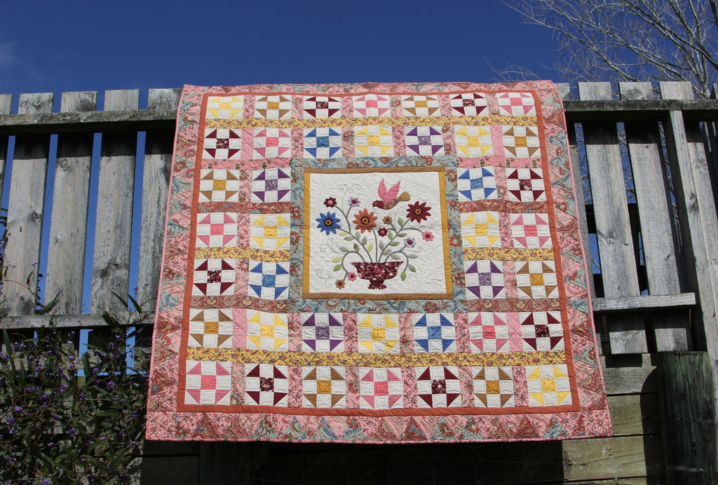 Border ideas-Whimsical Baskets Quilt