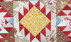 The Feathered Star Quilt has stolen my heart.