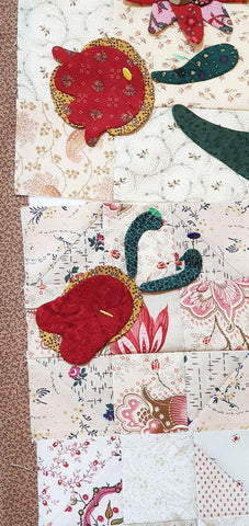 Sharon Keightley Quilts | Auditioning Fabrics