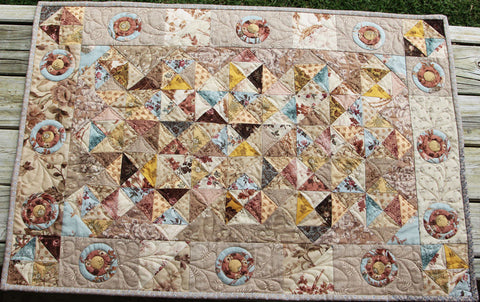Aunt Bessy's Sparkle Runner Quilt Pattern | Pine Valley Quilts