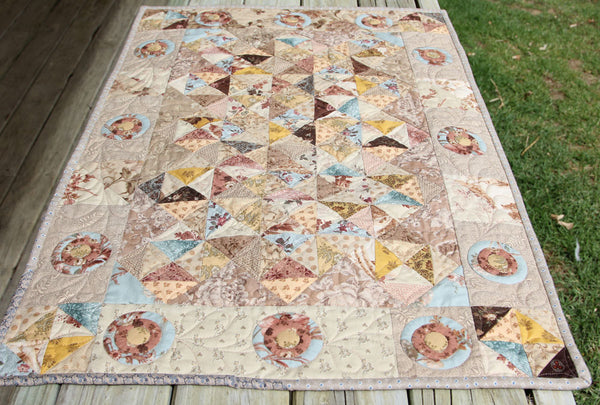 Aunt Bessy's Sparkle | Sharon Keightley Quilts