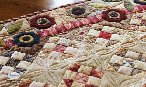 Treasures from the scrap bin | Sharon Keightley Quilts