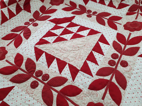 Bloomin Baskets Quilt Pattern | Sharon Keightley Quilts