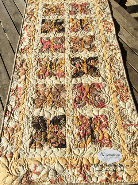 Butterfly Runner Pattern | Sharon Keightley Quilts