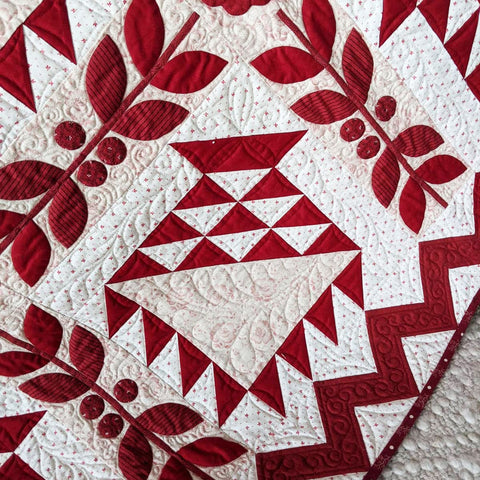 Bloomin Baskets Quilt | Sharon Keightley Quilts
