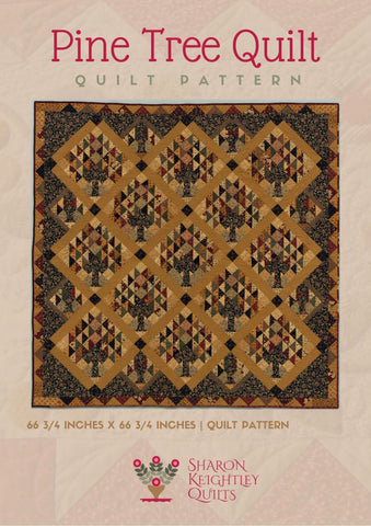 Pine Tree Quilt Pattern | Sharon Keightley Quilts