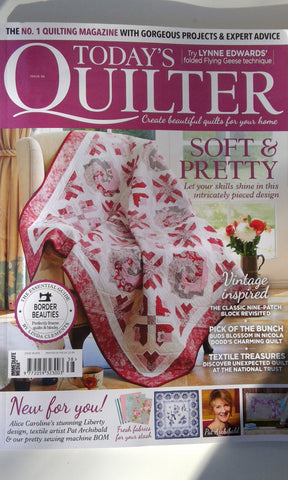 Today's Quilter Magazine | Sharon Keightley Quilts