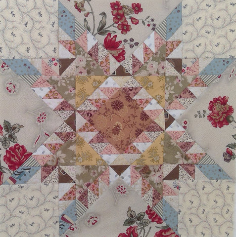 Feathered Star Quilt | Sharon Keightley Quilts