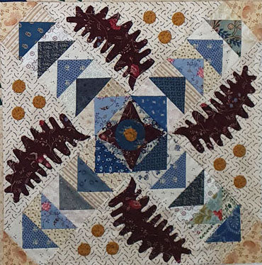 Feathered Applique Quilt |  Sharon Keightley Quilts