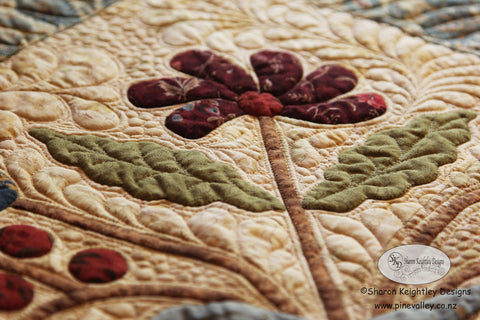 Lillys Table Mat Quilt | Pine Valley Quilts