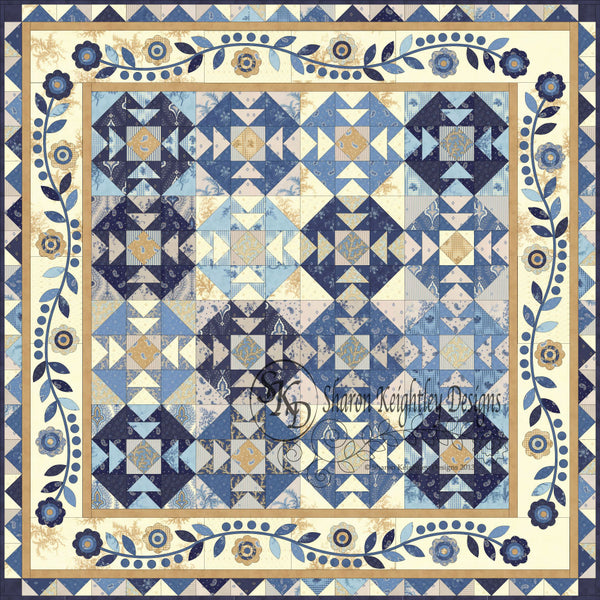 Big T Quilt Design | Pine Valley Quilts