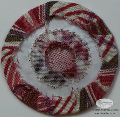 Applique circles by machine | Pine Valley Quilts