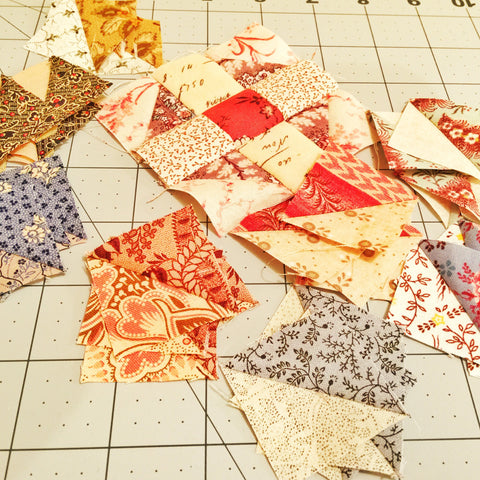 Treasures from the scrap bin/Pine Valley Quilts