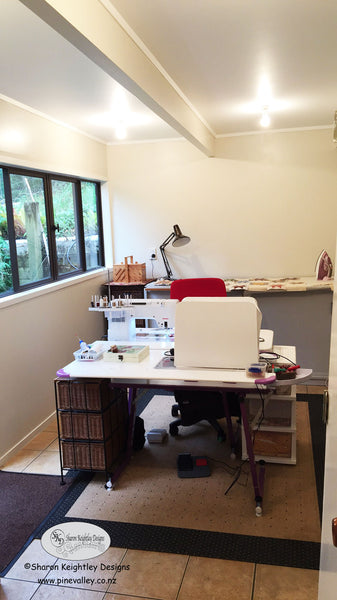 Sewing Room Makeover | Pine Valley Quilts