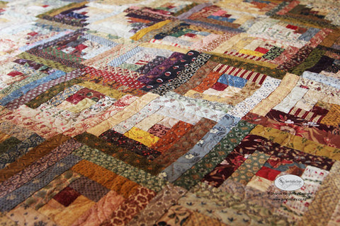Scrappy Affair Quilt | Pine Valley Quilts