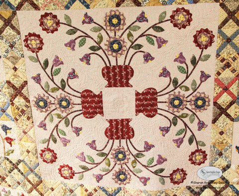 Vintage Crosses Quilt | Sharon Keightley Quilts