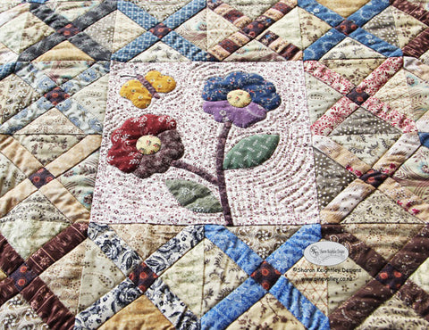 Vintage Crosses Sew Along | Sharon Keightley Quilts