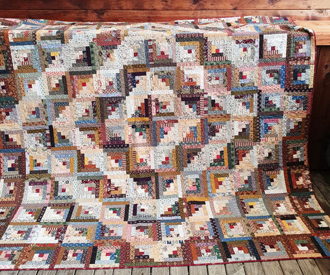 One Block Quilt | Sharon Keightley Quilts