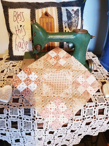 Nine Patch Block | Sharon Keightley Quilts