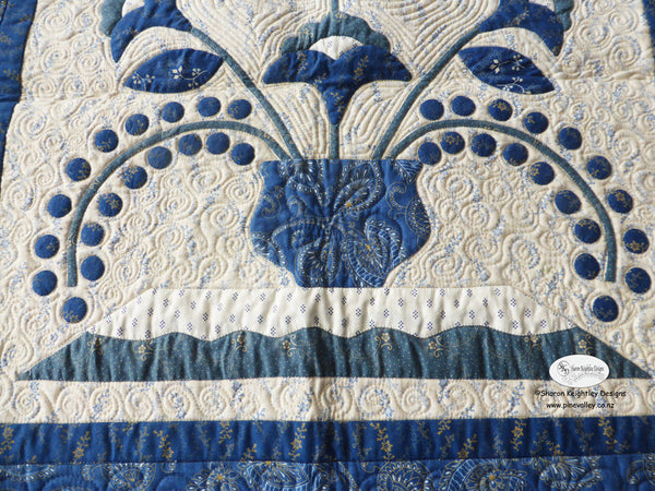 Birds in a Bluebird Tree Quilt Pattern | Pine Valley Quilts