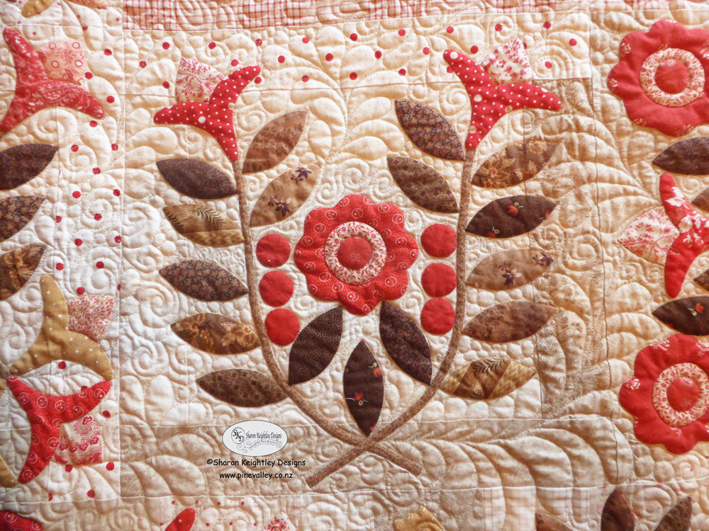 Winterwood Quilt Pattern | Pine Valley Quilts