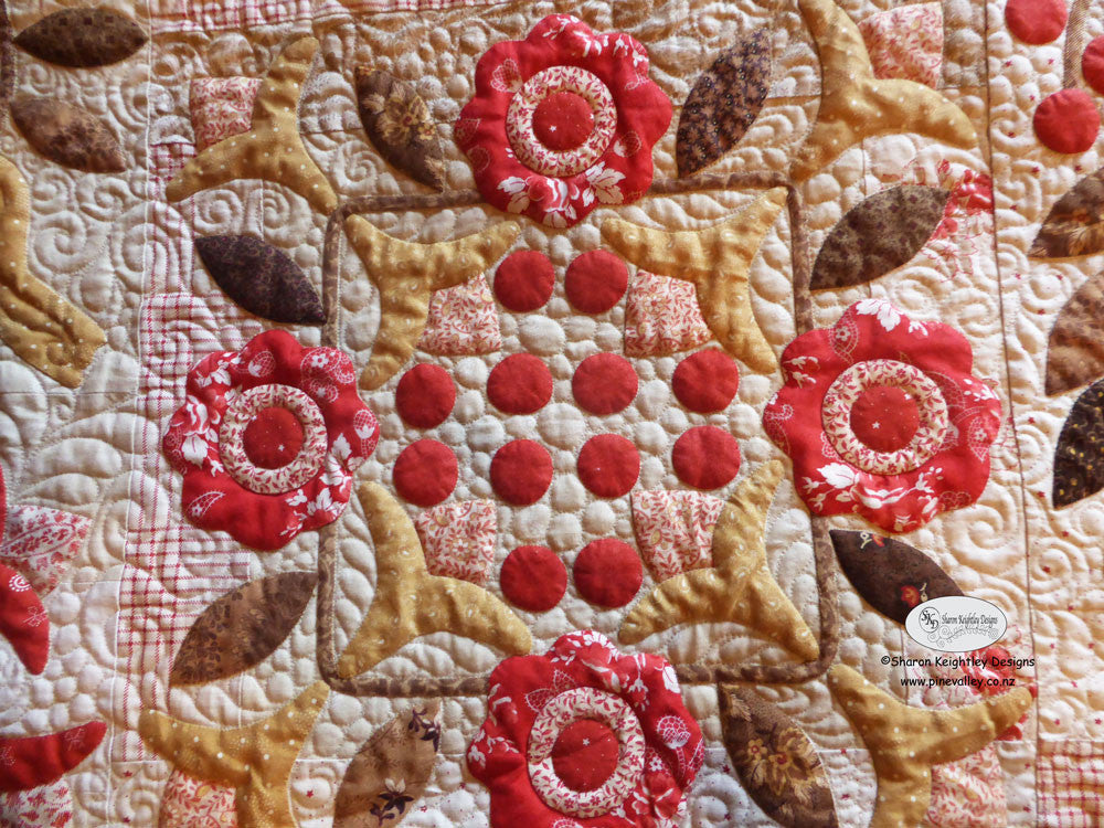 Winterwood Quilt Pattern BOM/ Pine Valley Quilts