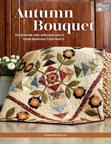 Autumn Bouquet | Sharon Keigthley Quilts