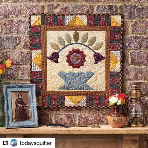 Rose Arbour | Sharon Keightley Quilts