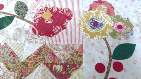 Roses Border | Sharon Keightley Quilts