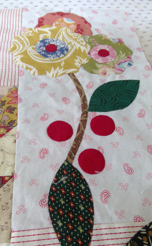 Roses Quilt Border | Sharon Keightley Quilts