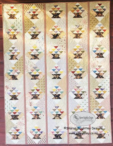 Scrappy Baskets Quilt Pattern / Pine Valley Quilts