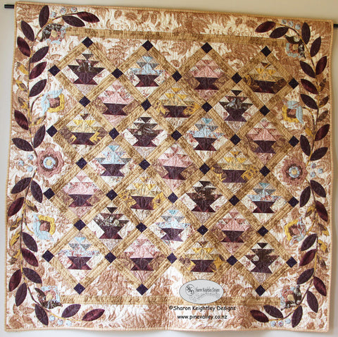 Simply Baskets Quilt Pattern | Pine Valley Quilts