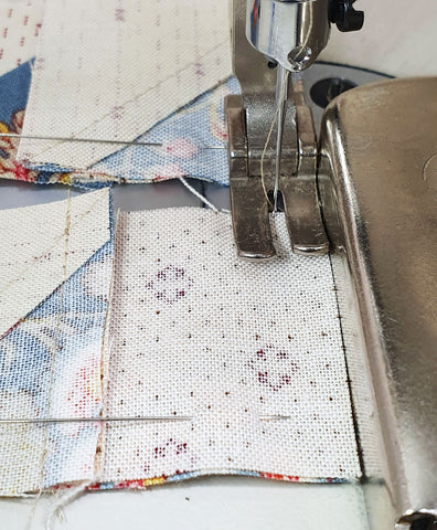 Treasures in the scrap bin sew along | Sharon Keightley Quilts