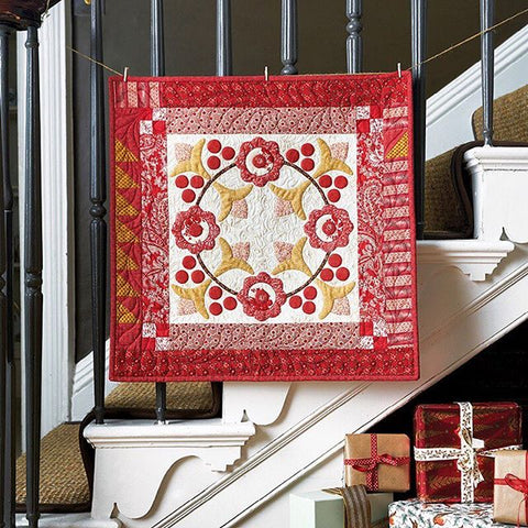 Winterberry Quilt | Sharon Keightley Quilts
