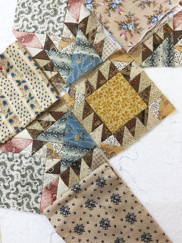 Sharon Keightley Quilts | Feathered Star Quilt