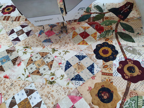 Treasures from the scrap bin Sew Along | Sharon Keightley Quilts