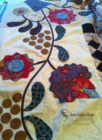Blossoms and Berries Quilt |  Pine Valley Quilts