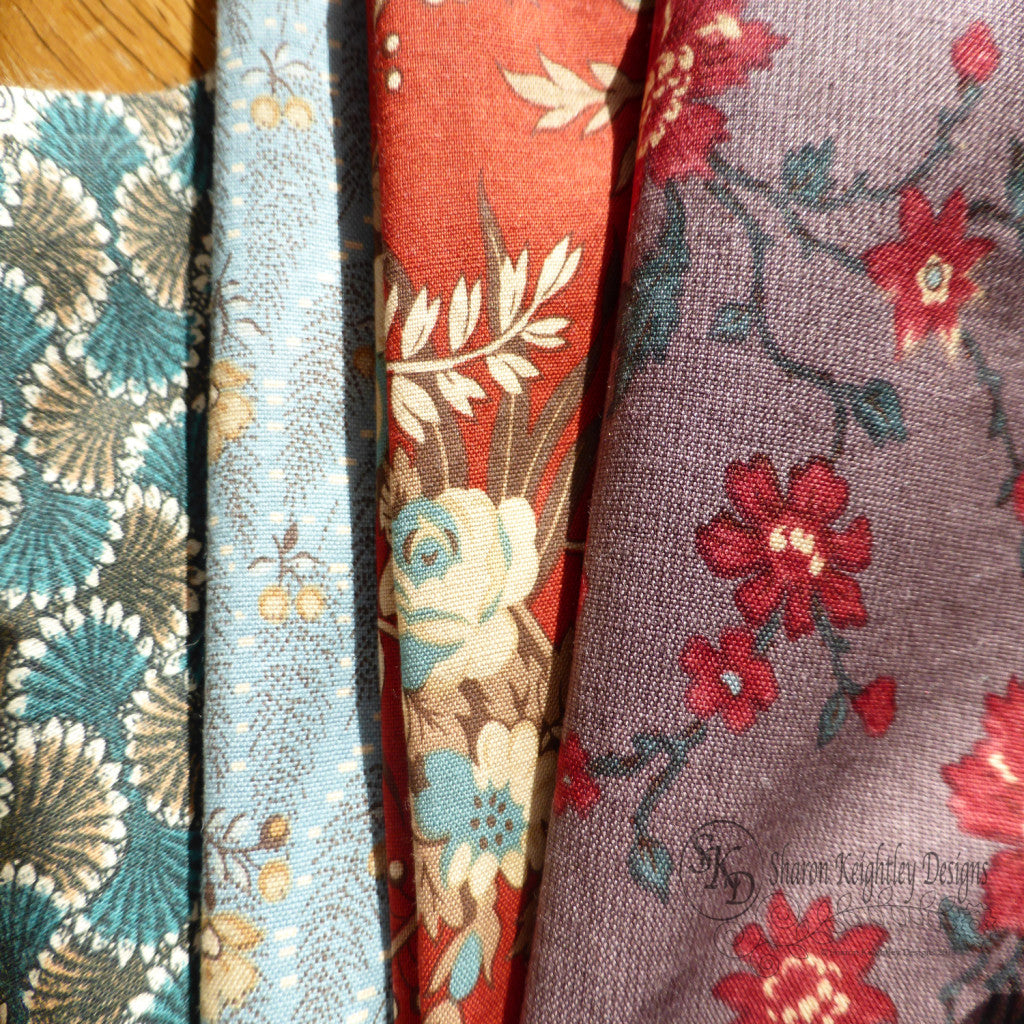 Berries and Blossoms Fabrics